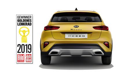 Kia XCeed vinner Goldenes Lenkrad