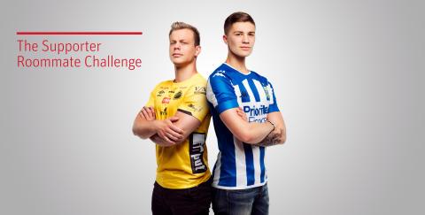 The Supporter Roommate Challenge, Riksbyggen