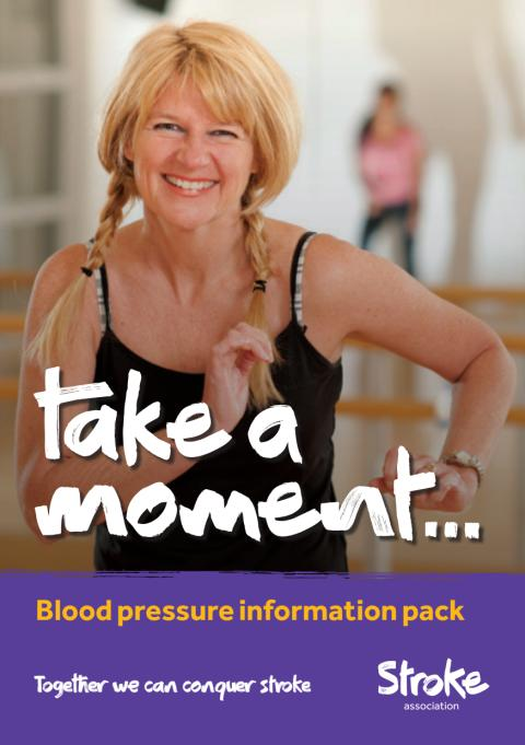Take a Moment Blood Pressure Information Pack