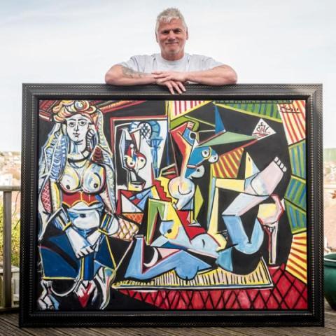 Pocklington firm uses superfast broadband to prove artworks are genuine fakes!