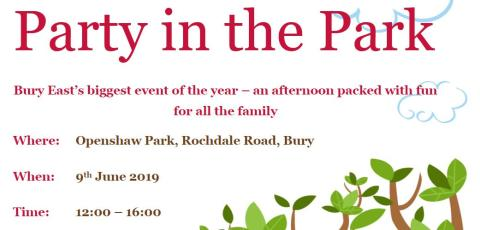 Get ready to Party in the Park