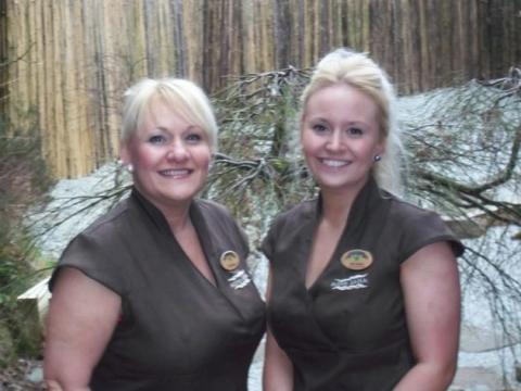 Like mother, like daughter at Aqua Sana Whinfell Forest