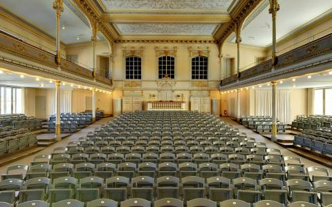 Konsertsalen salongen