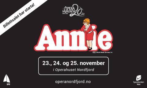 Sjarmtrollet Annie til Opera Nordfjord - billettsalet er i gang!