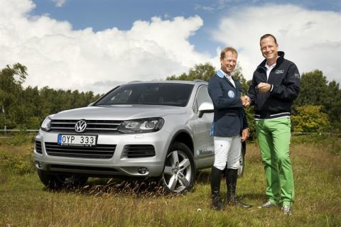 Jerringprisvinnaren Rolf Göran Bengtsson mot OS i Volkswagen Touareg