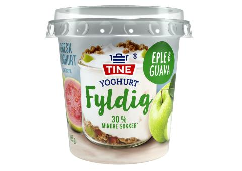 TINE Yoghurt Fyldig Eple og Guava