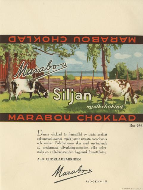 Marabouchoklad Siljan