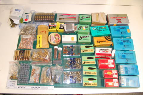 Recovered ammunition