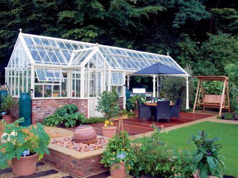 Det oslagbara trädgårdsrummet i glas