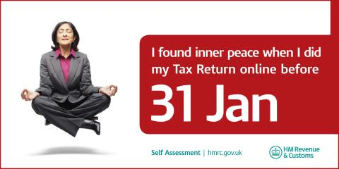 """Self Assessment """"Inner Peace"""" campaign - outdoor posters"""