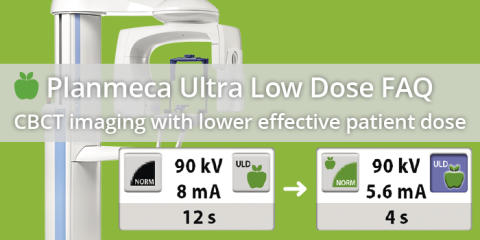 Planmeca Ultra Low Dose FAQ – CBCT imaging with lower effective patient dose