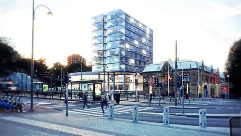 Ny glasbyggnad ska få Chalmers Ventures att skina