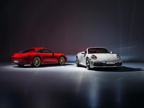 Porsche introducerar nya 911 Carrera Coupé och 911 Carrera Cabriolet