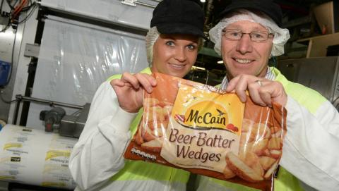 Employee Survey of McCain food factory renders 100+ Sustainable Development ideas