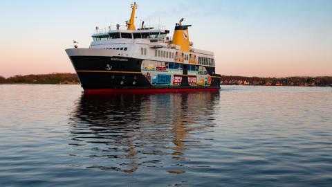 Landevejsprincippet: Ærø formåede at fylde 200 ekstra færger
