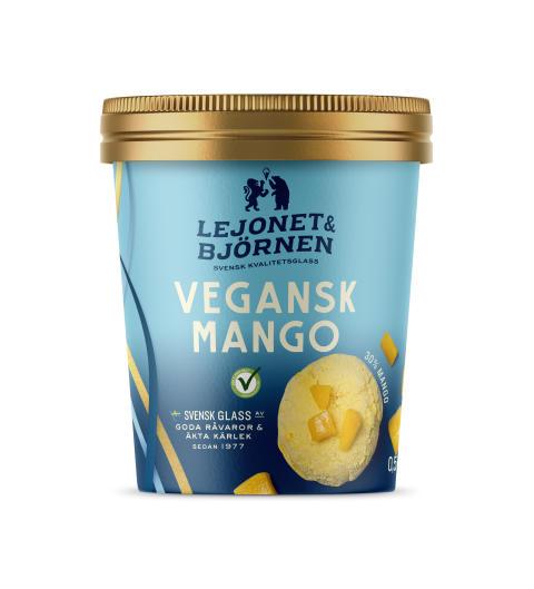 Vegansk Mango glass Lejonet&Björnen