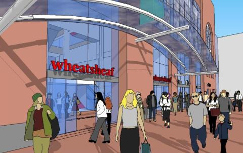 New Wheatsheaf entrance moves a step closer