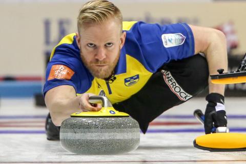 Curling-EM 2016: Styrkebesked från lag Edin i premiären