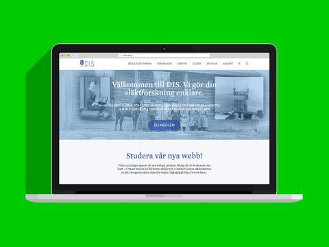 Ny webbplats för Föreningen DIS på Drupal 8