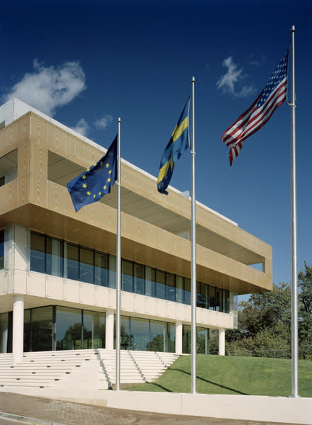 Bonas ytbehandlingar i House of Sweden ger svenska ambassaden ett naturligt nordiskt utseende