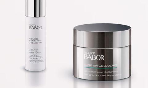 Vi lanserar Babor! Köp 4 betala för 3 på Exuviance & Gåva på köpet från Decléor.