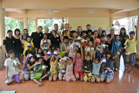 Bemannia supports an orphanage for abandoned children in Thailand