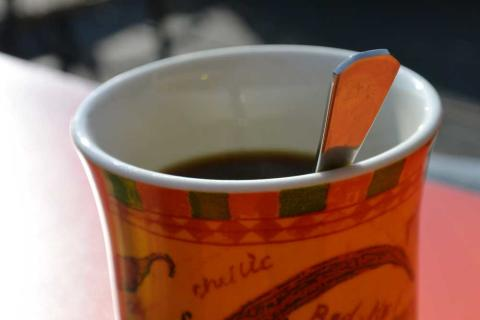 Kahvi ei tunnu sydäntykytyksenä