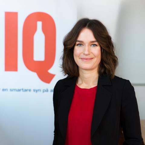 Karin Hagman, vd IQ
