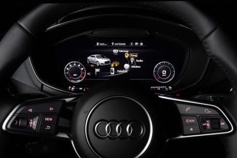 Audi virtual cockpit info