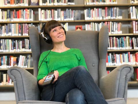 E-lydbøker til låns på Deichman – men kun på engelsk