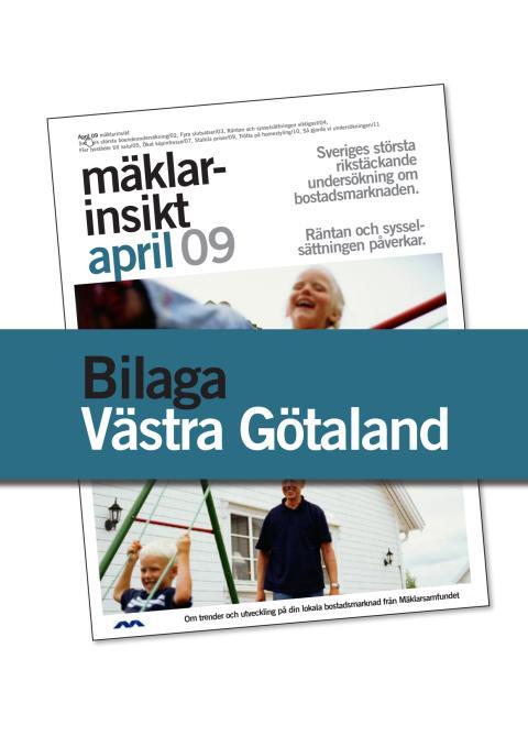 Västra Götalands län: Fler bostäder till salu den närmaste tiden i Västra Götalands län