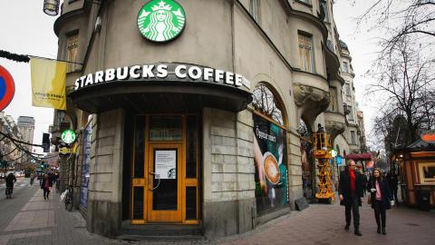 Starbucks Sveriges pressträff
