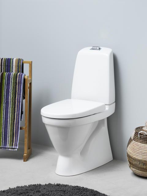 Nautic WC med förhöjd spolknapp - godkänd av Reumatikerförbundet