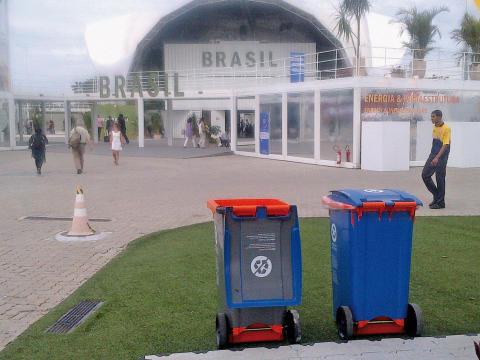 50 000 Plastic Omnium-kärl vid Rio+20