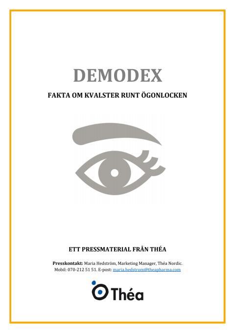 Faktamaterial - demodex