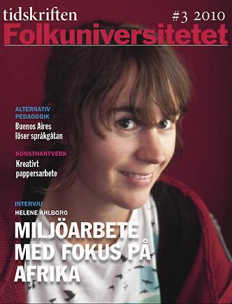 Internationella utblickar i Tidskriften Folkuniversitetet