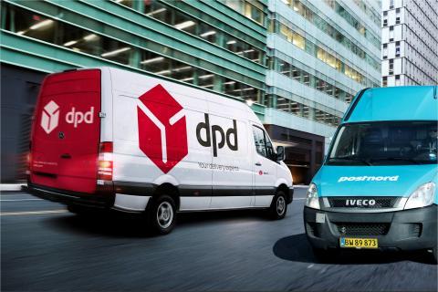 Send pakkene til Europa med PostNord og DPD