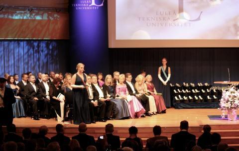 Luleå tekniska universitet firade Akademisk högtid
