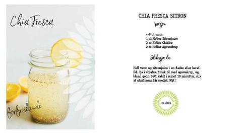 Chia Fresca - forfriskende og næringsrik sommerdrikke
