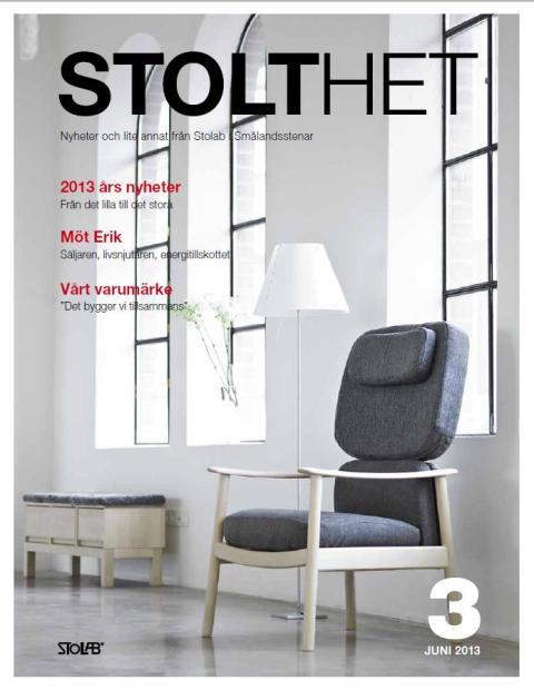 Stolthet nr 3 - Nyheter och lite annat från Stolab i Smålandsstenar