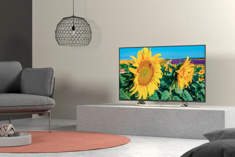 XF80 Series 4K HDR TV