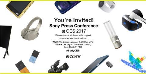 Sony Pressekonferenz CES 2017