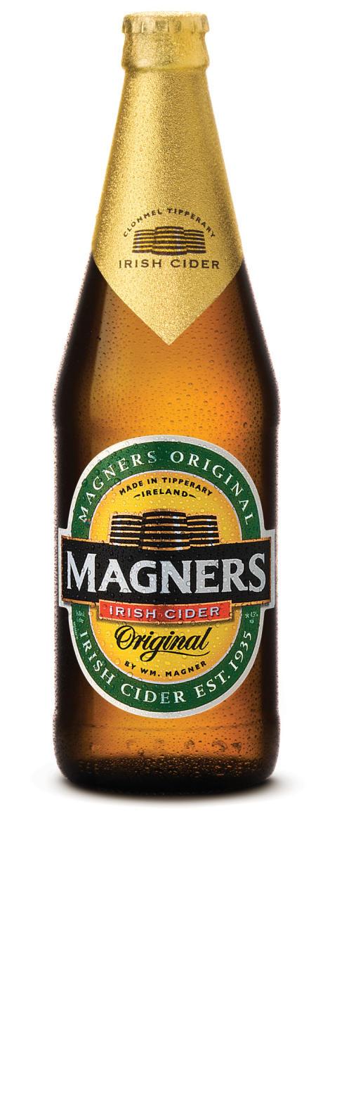 Magners Irish cider succé på Irländska pubar