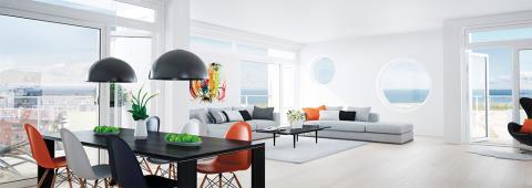 Bostadsrättspriserna i Malmö fortsätter att öka kraftigt