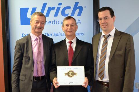 ulrich medical mit US-Tochtergesellschaft auf Erfolgskurs