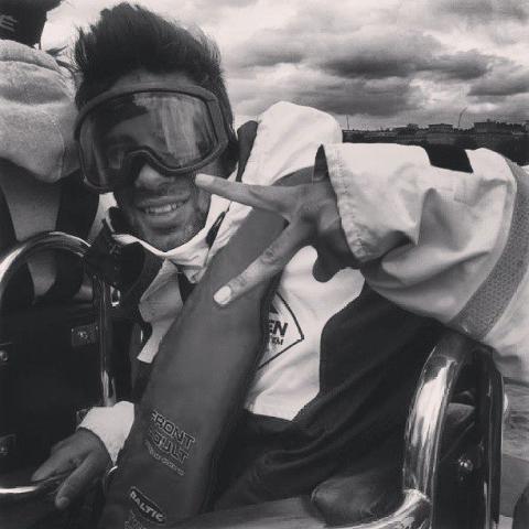 Artan Mansouri går ombord Havskampen som matros i lag East @easthk13
