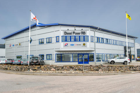 High res image - Cox Powertrain - Diesel Power HQ in Kungsbacka