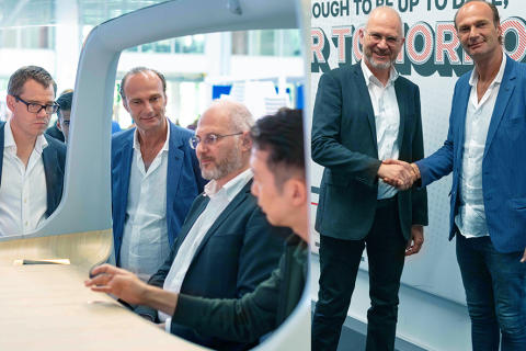 CEVT and Noveto to create Future Private Sound Sphere in Cars