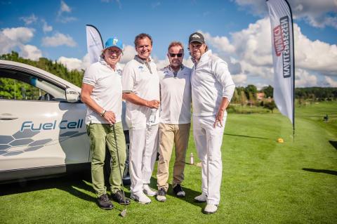 Hyundai stöttar UNICEF i prestigefylld golftävling