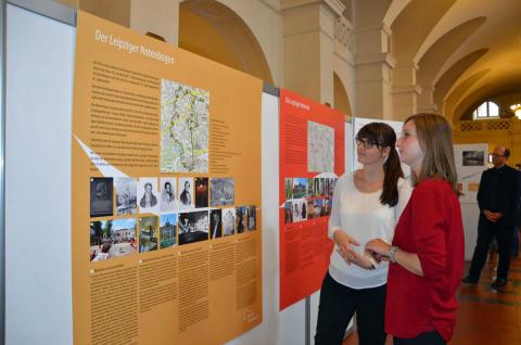 Neue Ausstellung zeigt bis zum 26. August 2016 im Neuen Rathaus, wie die Leipziger Notenspur die Stadt bewegt